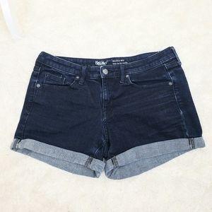 Mossimo denim mid-rise shorts
